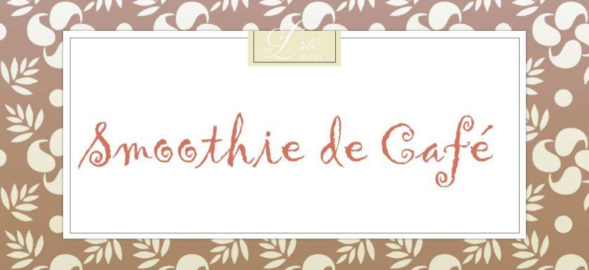 Smoothie de Café - Etikett