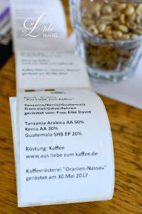 Kaffeerösterei - mein Label