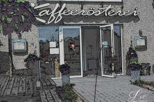 Kaffeerösterei Oranien-Nassau - Eingang